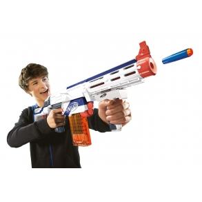 pistol og håndjern